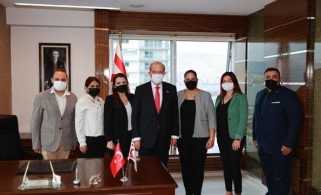 Tatar'dan İzmir Başkonsolosluğuna ziyaret