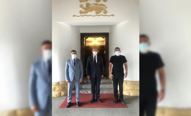 Tatar, Dünya Gençlik Konseyi'ni kabul etti