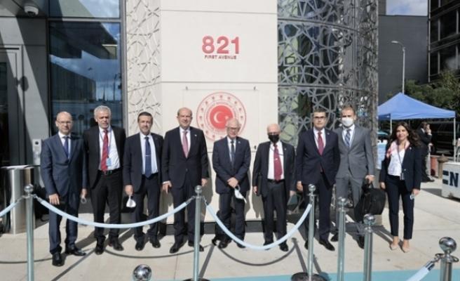 Tatar, New York'ta Türkevi'nin açılışına katıldı