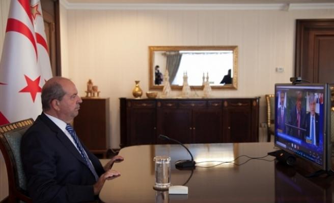 """Tatar:  """"Rum devletine dönüşen Kıbrıs Cumhuriyeti'nin devamını istiyorlar"""""""