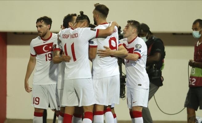 Türkiye A Milli Futbol Takımı, Cebelitarık deplasmanında ikinci yarıda bulduğu gollerle kazandı