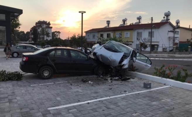 1 haftada  68 adet trafik kazası