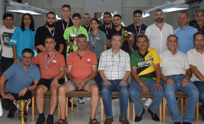 Bilardoda 5. Mehmetçik yaz turnuvası tamamlandı