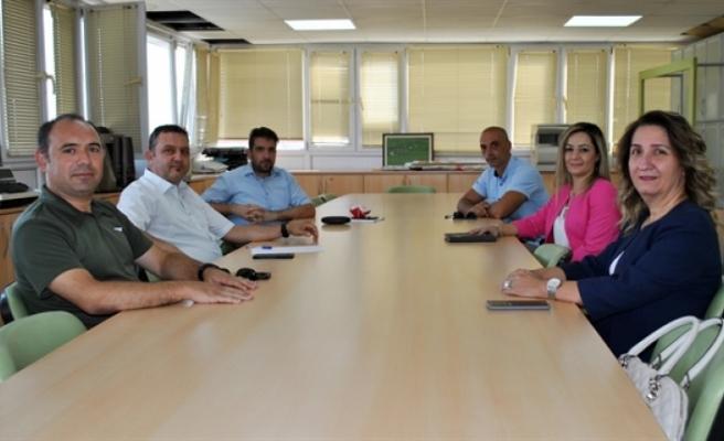 DPÖ Müsteşarı'ndan  Mühendis ve Mimar Odaları Birliği'ne ziyaret