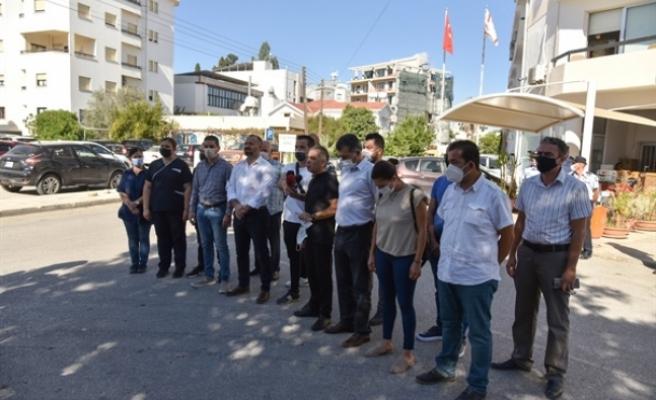 İhtiyat Sandığı Dairesi'nde örgütlü iki sendikadan basın açıklaması