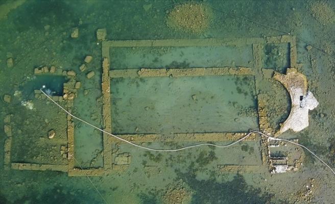 İznik Gölü'ndeki bazilikanın 13. yüzyılda gömülerek terk edildiği ortaya çıktı