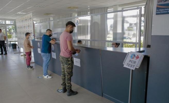 KKTC'de bugün yapılan testlerin sonuçları açıklandı