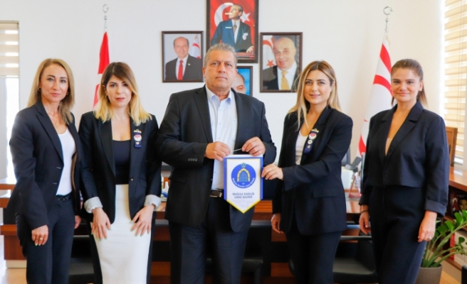 Mağusa Ravelin Lions Kulübü Derneği    Arter'i ziyaret etti