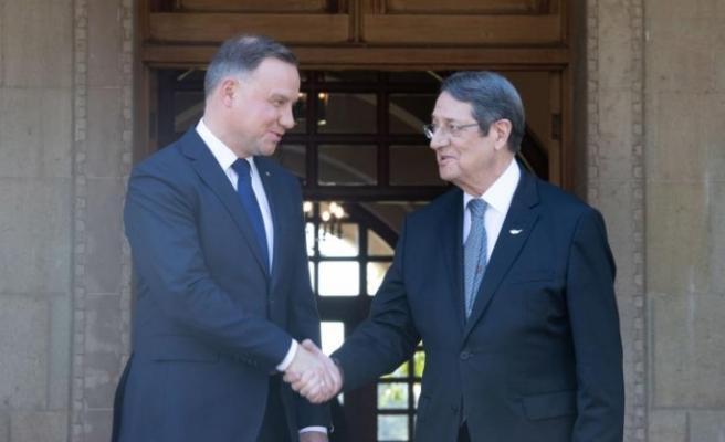 Polonya Cumhurbaşkanı'ndan Kıbrıs sorunu açıklaması
