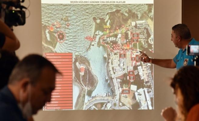 Sivil Savunma'dan Afet Yönetimi Ve Müdahale Tatbikatı ile ilgili bilgilendirme