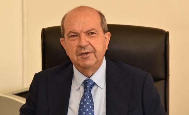 """Tatar: """"İki egemen halk olarak oturup konuşacağız, çözüm iki devletin iş birliğiyle olacaktır"""""""