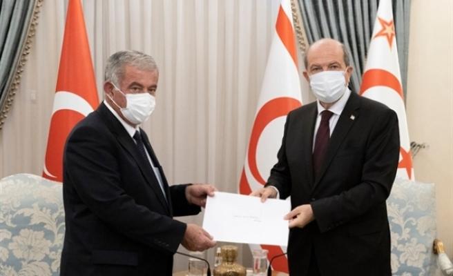 Tatar, Sennaroğlu ve Saner'i kabul etti, açıklamalarda bulundu