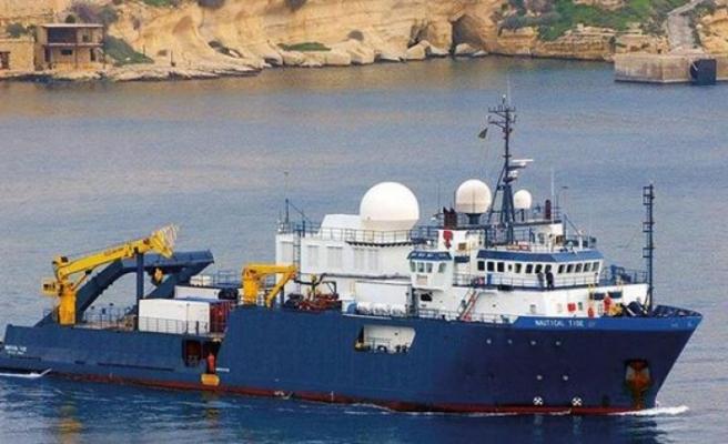 """Türk savaş gemilerinin Nautical Geo"""" adlı gemiyi """"taciz ettiği"""" iddiası"""