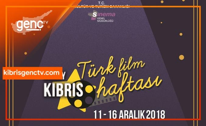 Kuzey Kıbrıs Türk Filmleri Haftası yarın