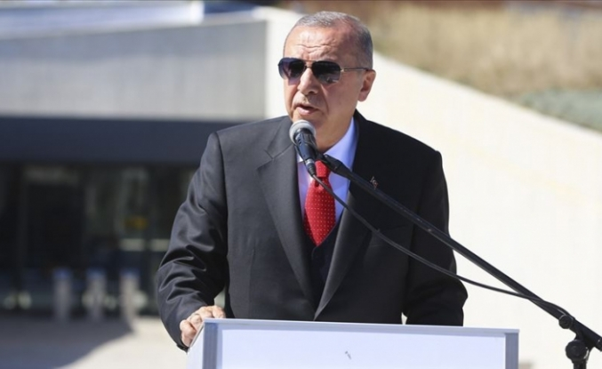 """""""Kıbrıs'ta, Doğu Akdeniz'de haklarımıza tecavüz etmeye kalkarak sabrımızı ve kararlılığımızı sınıyorlar"""""""