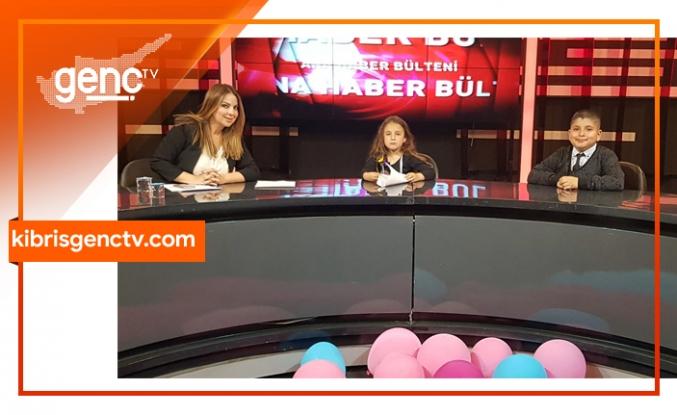 Genç Tv'nin 23 Nisan'da minik sunucuları vardı