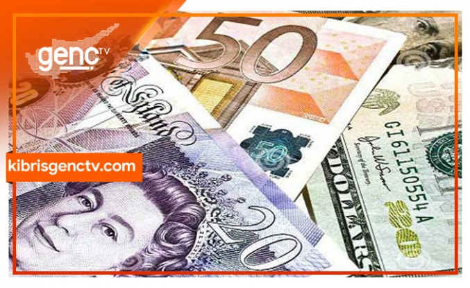 Dolar,Sterlin ve Euro'da son durum
