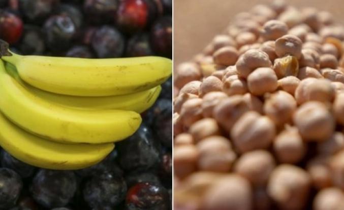 Muz, nohut ve yer fıstığı yetersiz beslenen çocukların gelişiminde etkili