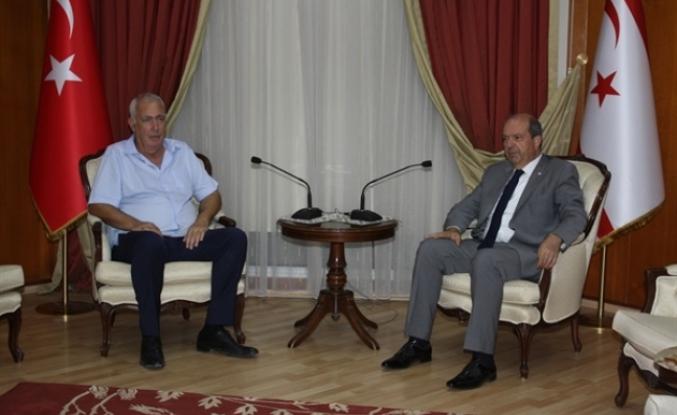 Tatar, Hava Sporları Federasyonu Başkanı Zeki Ziya'yı kabul etti
