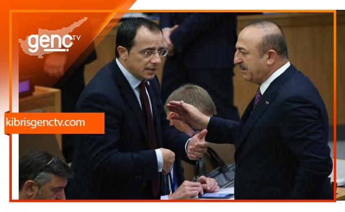 """Çavuşoğlu'ndan Rum Bakan'a: """"Senin liderin bunu reddetti"""""""