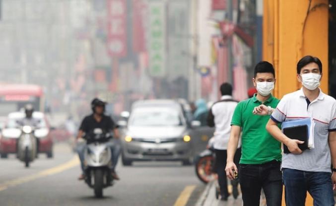 Malezya'daki hava kirliliği, evlere yemek siparişini yüzde 40 arttırdı