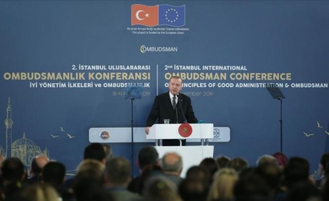 """Erdoğan: """"Bizim derdimiz petrol değil insan"""""""
