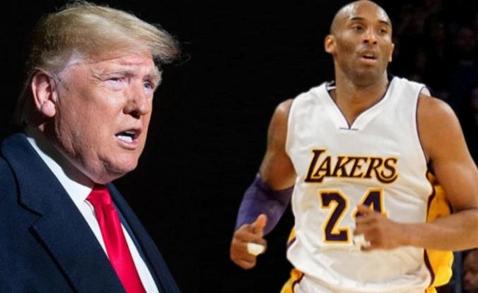 Trump'tan Kobe Bryant açıklaması