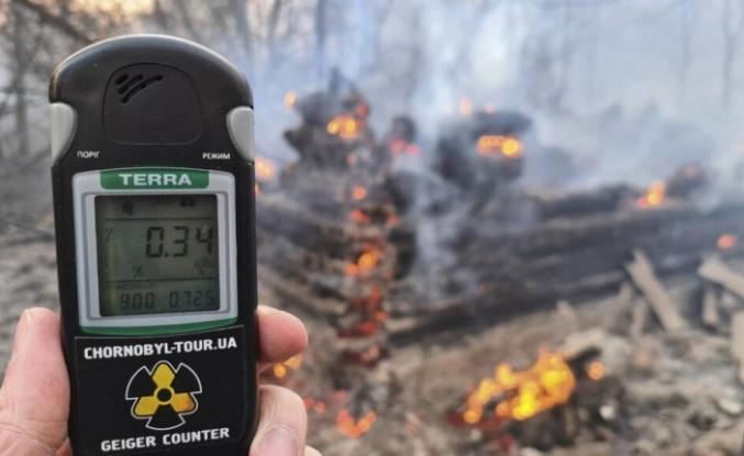 Çernobil'de yangın çıktı, bölgedeki radyasyon seviyesi 16 kat attı