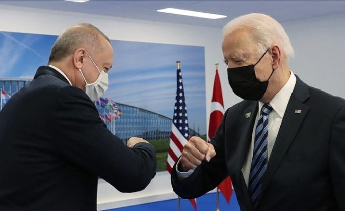 """Biden: """"Cumhurbaşkanı Erdoğan ile pozitif ve verimli bir toplantı yaptık"""""""