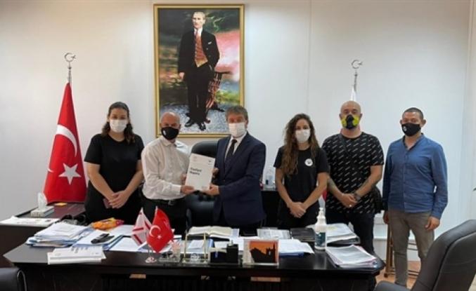 Üstel, Başbakanlık Uyuşturucu ile Mücadele Komisyonu Başkanı Karaokçu ile görüştü
