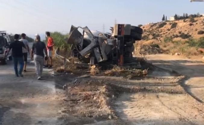 Girne Dağyolu'nda kaza