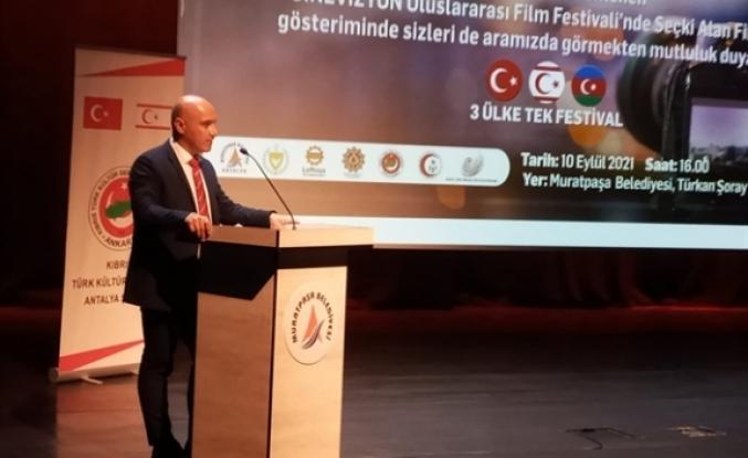 3. Sinevizyon Uluslararası Film Festivali Antalya'da yapıldı