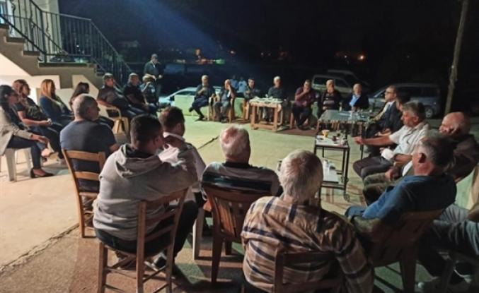 Sucuoğlu, Vadili köylerini gezdi