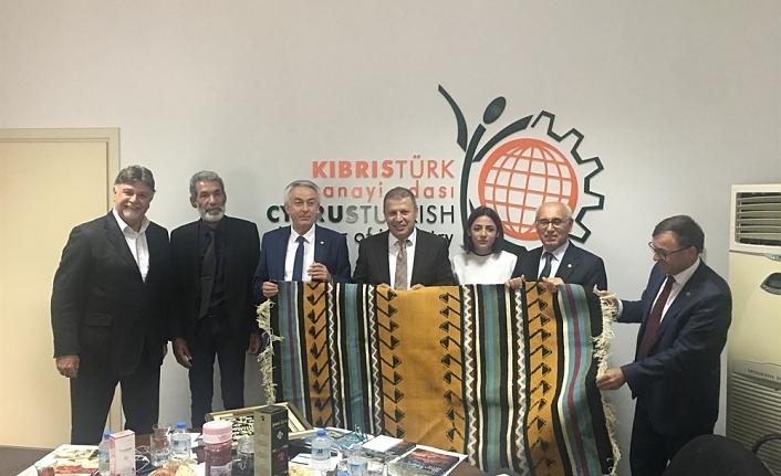 ISPARTA TİCARET VE SANAYİ ODASI KTSO'YU ZİYARET ETTİ
