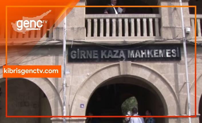 Girne Kaza Mahkemesi'nde tam gün grev var