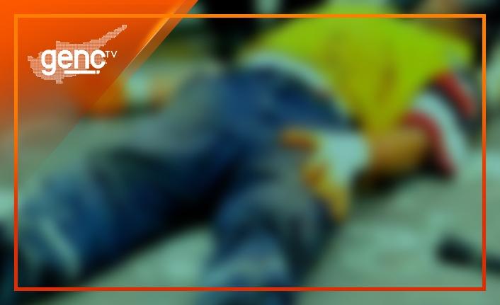 Ortaköy'de iş kazası