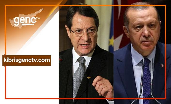 """Rum Haber Ajansı yazdı: """"Rum Lider Erdoğan ile görüştü"""""""