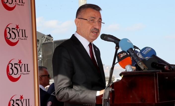 """""""Rum tarafının Kıbrıs Türkü'nü yok sayan girişimlerine göz yummayacağız"""""""