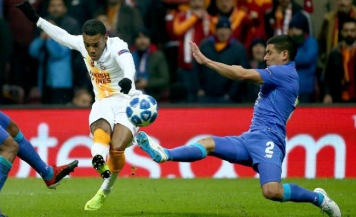 Galatasaray oynadı, Porto attı