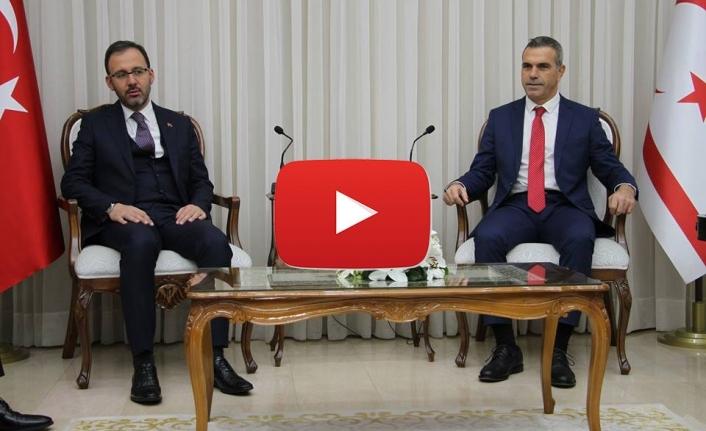 Uluçay, Türkiye Gençlik ve Spor Bakanı'nı kabul etti