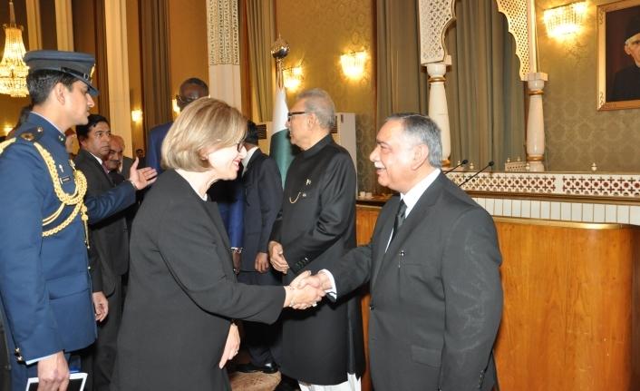 Yüksek Mahkeme Başkanı, Pakistan'da törene katıldı