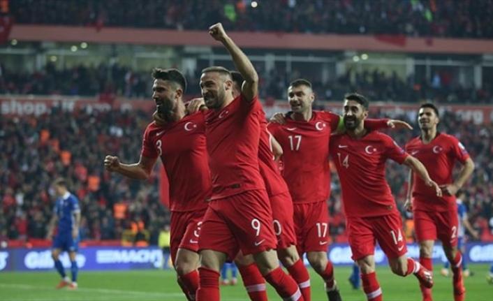 Türkiye, Moldava'yı gole boğdu