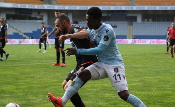 Medipol Başakşehir: 1 - Aytemiz Alanyaspor: 1