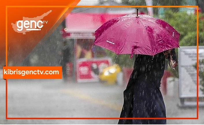 Yarın ve cuma günü yer yer yağmur bekleniyor