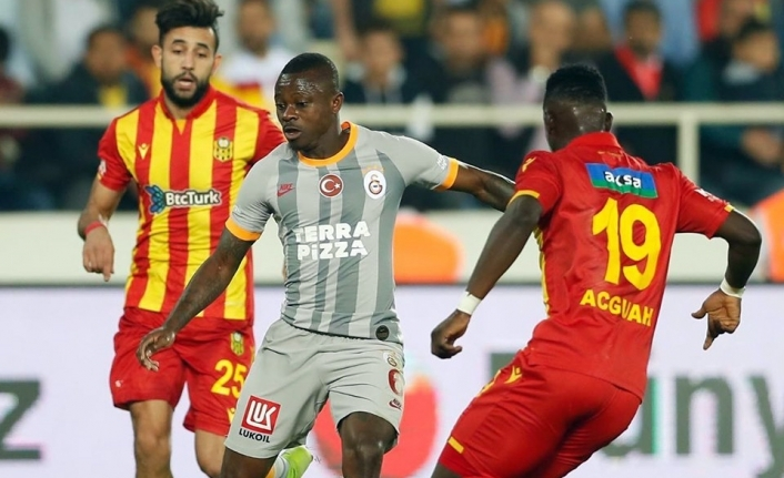 Galatasaray, Malatya'da takıldı