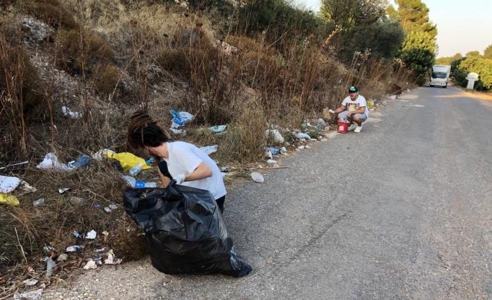 Take Action Cyprus, bu kez Boğaz Piknik Alanında temizlik yaptı