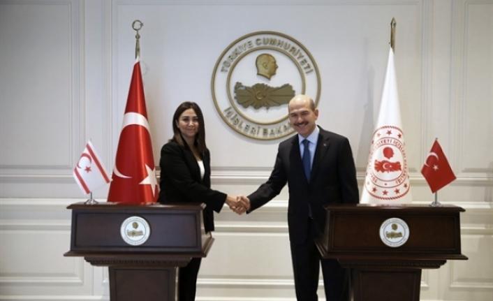 Baybars, Ankara'da Soylu ve Oktay ile görüştü