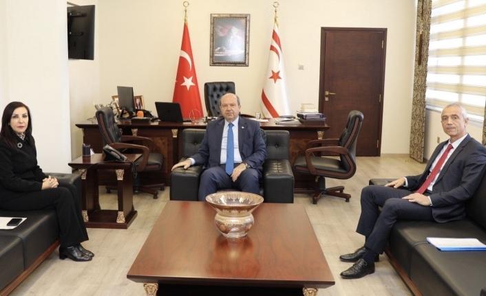 Başbakan, Sayıştay Başkanı ve Ombudsman'ı kabul etti