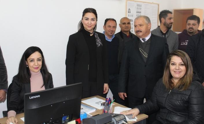 Bakanlığın Yenierenköy bucak hizmet binası himete açıldı