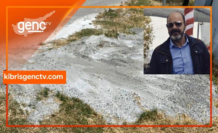 """Geçitkale Belediye Başkanı: """"Döktüğü betonu yalatarak temizletmek lazım"""""""